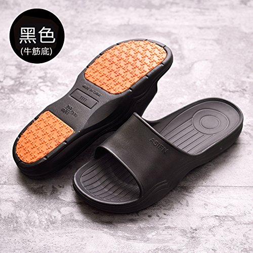 le DogHaccd outdoor e bagno Nero36 maschio pantofole pantofole Estate piana pantofole cool e donne grande gli pantofole estate del indoor uomini piatto base spessa doccia di XxfXPwrq