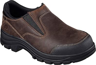 Skechers Work Workshire Teays Steel Toe Slip-On Shoe (Women's) SqFHDnO