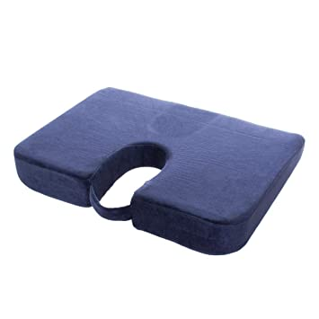 Amazon.com: Drive Medical Cx001 Coccyx Cushion Blue: Health ...