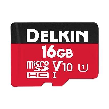Delkin Devices DDMSDR50016G - Tarjeta de Memoria microSDHC ...