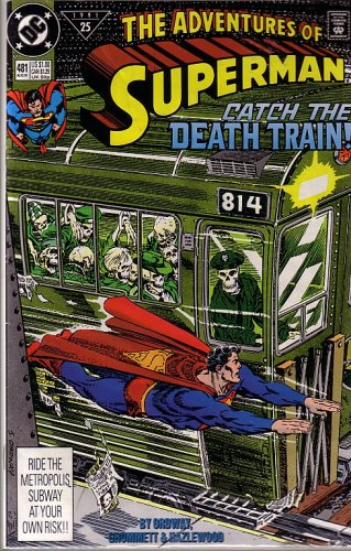 Download The Adventures of Superman, #481 (B001D0N7S8) B001D0N7S8