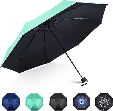 Mini Folding Umbrella-Anti-UV Rain Sun Travel Umbrella-Compact Super Windproof Portable Umbrella