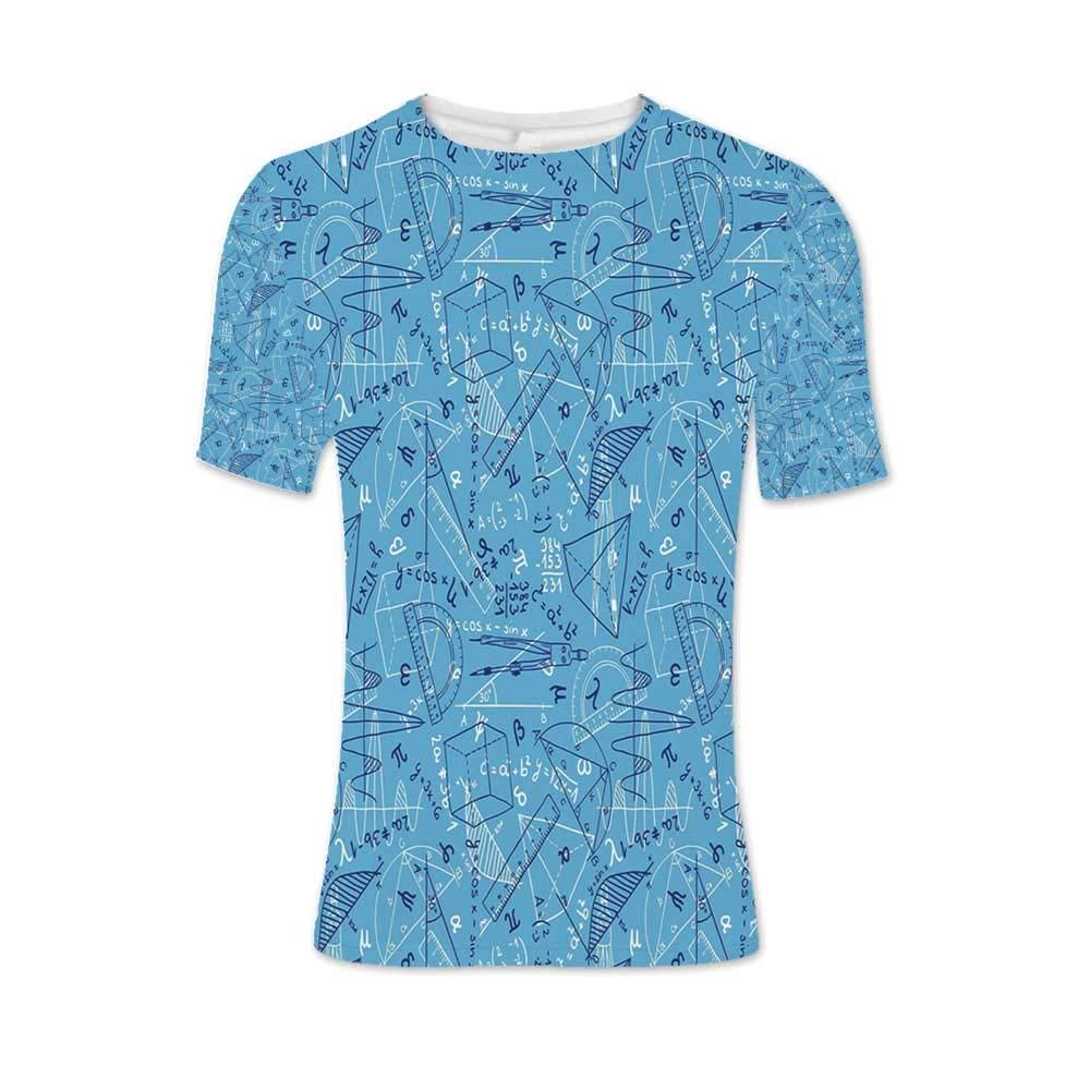 Mathematics Classroom Decor Fashionable T Shirt,for Men,M