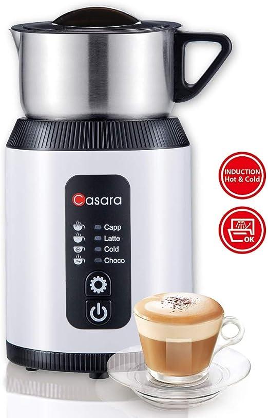 Amazon.com: Espumador eléctrico de leche Casara, espumador ...