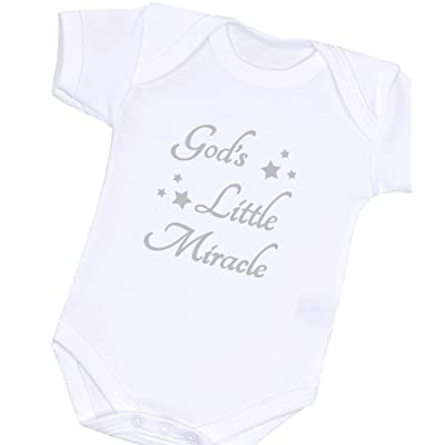 1f1e17263dc9 BabyPrem Baby One-Piece Christian Faith God Clothes Newborn Boy Girl Unisex  White