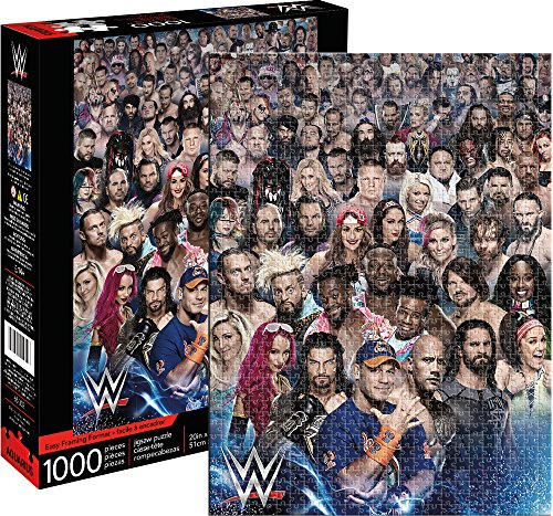Aquarius Wwe Cast Jigsaw Puzzle (1000 Piece) by Aquarius