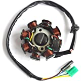Magneto Stator Ignition Generator 8 Poles Coils for 4-stroke 125cc and 150cc GY6 scooter engines