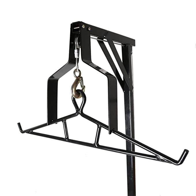 Amazon Com 500 Lbs Game Hunting Deer Hoist With Winch Lift Swivel