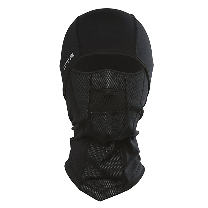 f1a0fec15b7 Chaos -CTR Adrenaline Dri Release Multi Tasker Pro Balaclava with Windproof  Face Insert and Hinged
