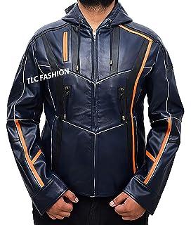 Infinity War Robert Downey Jr Jacket -Black Iron Man Camouflage Jacket