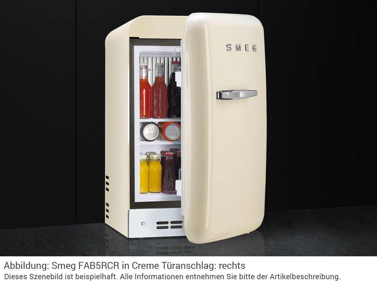 Bomann Kühlschrank Creme : Smeg fab lcr autonome l d creme kühlschrank u kühlschränke