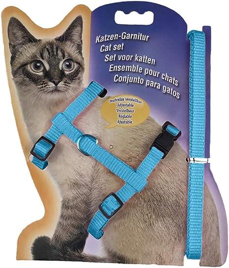 w70anFUyjn Pet Dog Cat Harness ,Soft Leash Dog Harness with Leash Plaid ,Adjustable Dog Cat Walking Small Medium Large for Walking Training,10 Colors