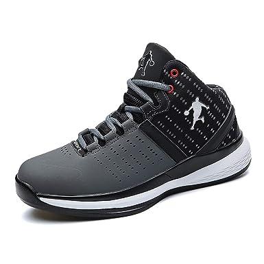 2018 Männer Basketball Schuhe Männer Und Frauen Casual Large Size Outdoor  Sports Schuh High-Top Sneakers Rutschfeste Verschleißfeste  Amazon.de   Bekleidung d679685384