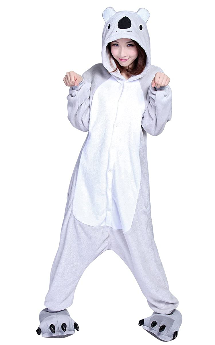 Renee Adulte Unisexe Anime Animal Costume Cosplay Combinaison Pyjama Outfit Nuit V/¨/ºtements Onesie Fleece Halloween Costume Soir/¨/¦e de D/¨/¦guisements