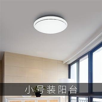 XUE Einfache Runde Studie führte Deckenlampe Küche Bad Balkon ...
