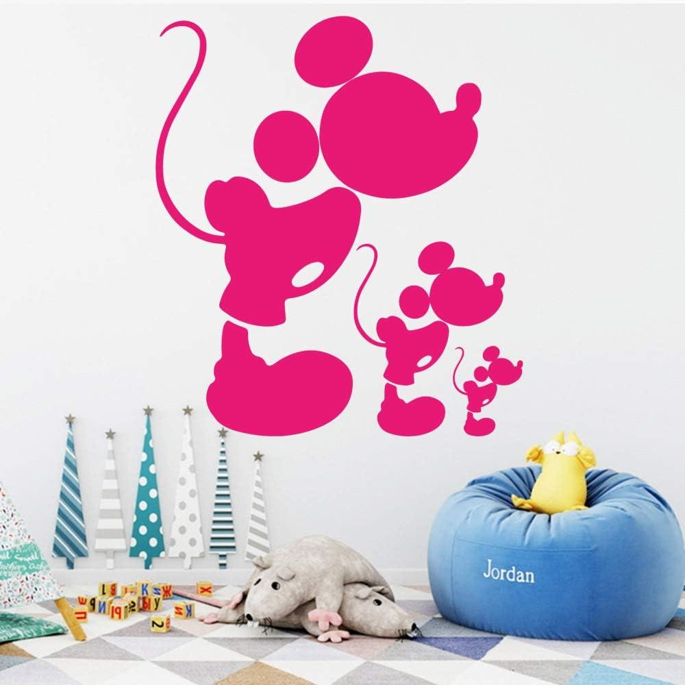 woyaofal Divertenti cartoni animati adesivi murali in PVC ...