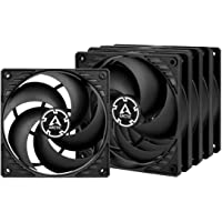 ARCTIC P12 PWM PST Value Pack - 120 mm Case Fan, Five Pack, PWM Sharing Technology (PST), Pressure-optimised, Very Quiet…