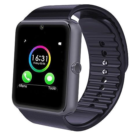 """MallTEK Smartwatch Bluetooth 1.54"""" Reloj Inteligente Multi-Idiomas con Cámara y Soporta SIM &"""