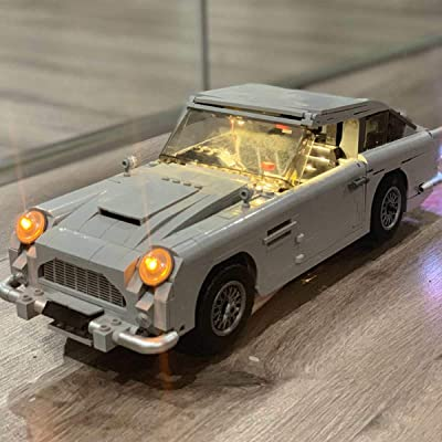 GDR Led Light for Creator James Bond Aston Martin DB5 Light Set Compatible with Lego 10262 (Only Light Set): Toys & Games