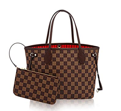 c6ffa91e8b66b Amazon.com: Womens Classic Canvas Neverfull Top-Handle Tote Bag Large  Volume Shoulder Bag: Shoes