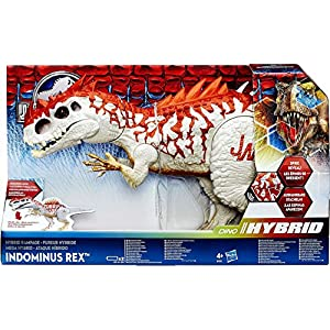 Jurassic World Dino Hybrid Indominus Rex Action Figure - 61ugYoDMEZL - Hasbro Jurassic World Rampage Indominus Rex Action Figure