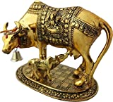 Artsy Art & Craft Handcrafted Cow with Calf Idol Showpiece for Home Decor,Housewarming
