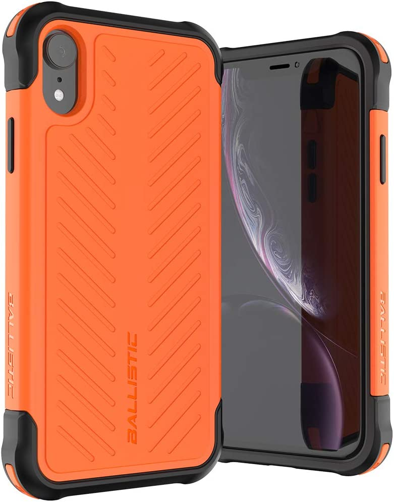 Ballistic Tough Jacket Series Case for iPhone XR 6.1 Orange