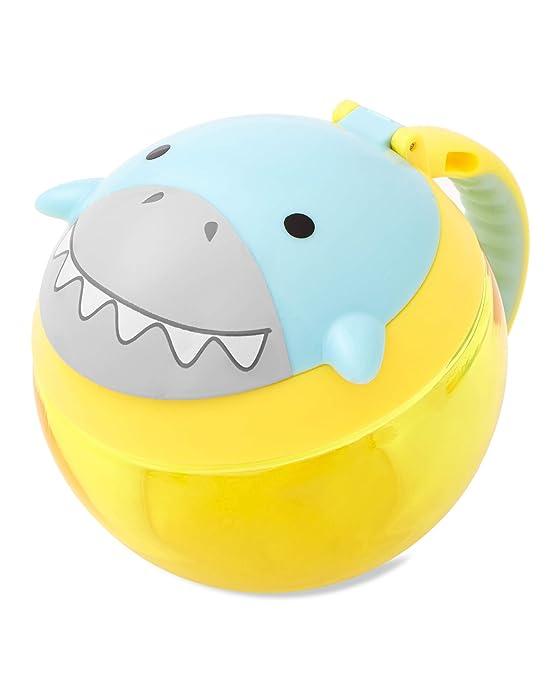 Skip Hop Toddler Snack Cup, Shark