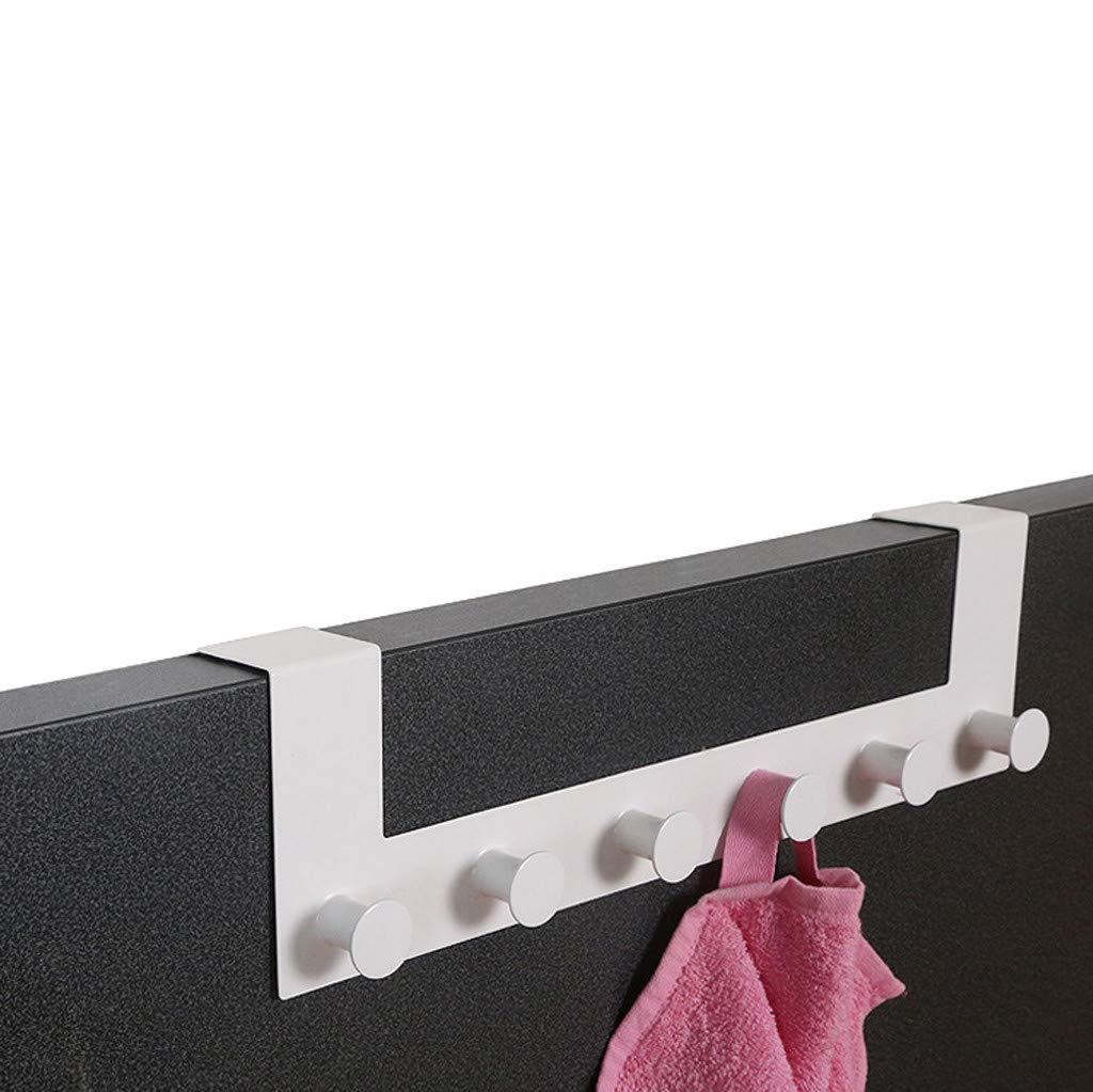 ViShow Iron Art Back Door Hanger Hook for Bathroom Kitchen Hanger Towel Clothes Door Rack,Easy Install Space Saving Bathroom Hooks by ViShow (Image #4)