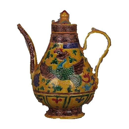 Fashion158 Ming - Macetero de Porcelana esmaltado con diseño de ...