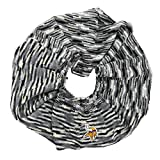 NFL Minnesota Vikings Infinity Space Dye Cozy Scarf, One Size, Light Gray/Black/White