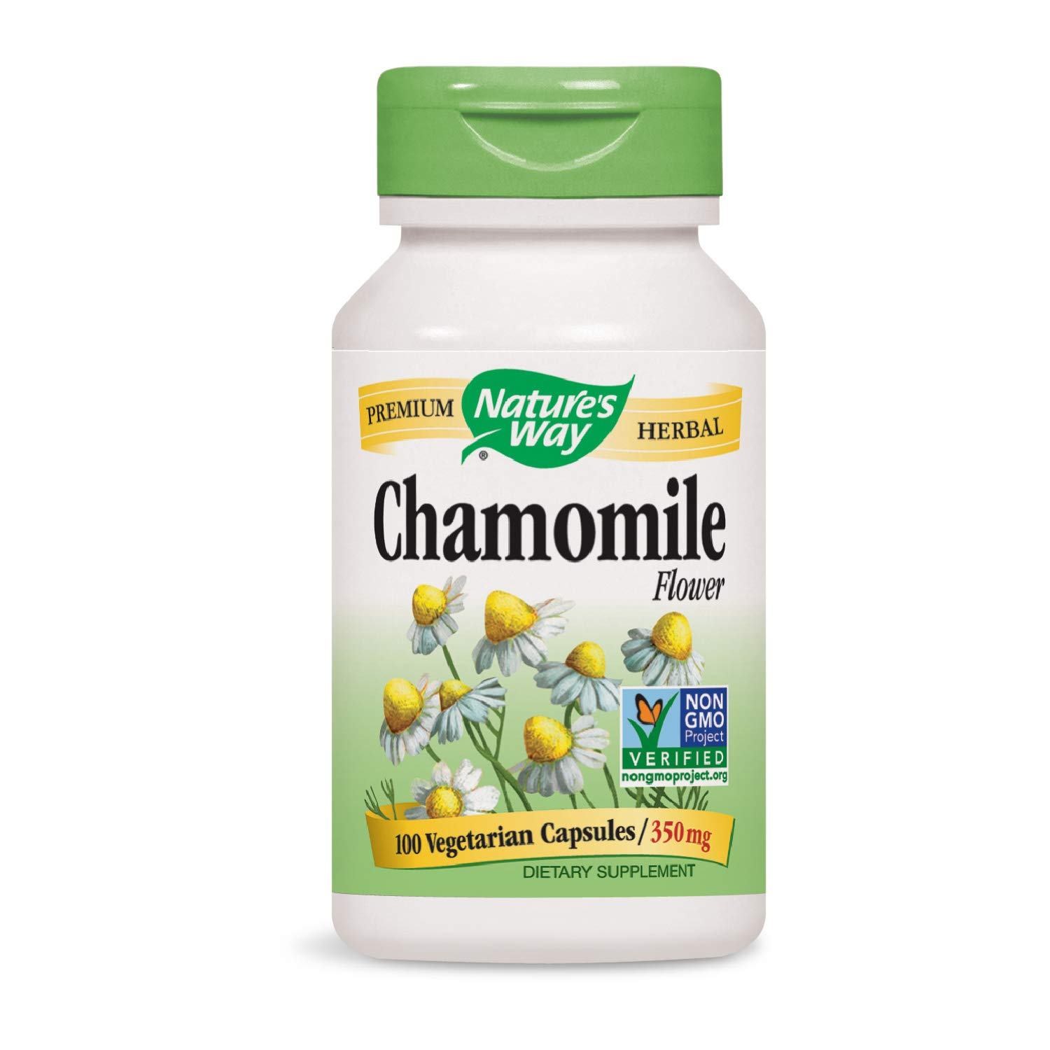 Nature's Way Chamomile Flower 350 mg, 100 VCaps (Packaging May Vary) natural sleep supplements - 61ugaMiVyIL - Natural sleep supplements – top 3 sleep supplements in the market