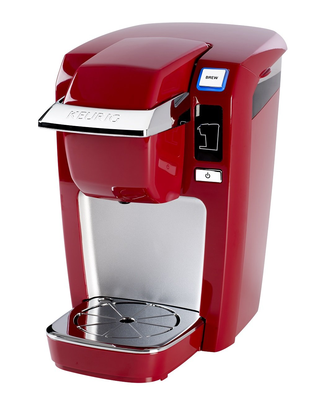 Single Serve K-Cup Pod Coffee Brewer Chili Red Keurig K15 Coffee ...