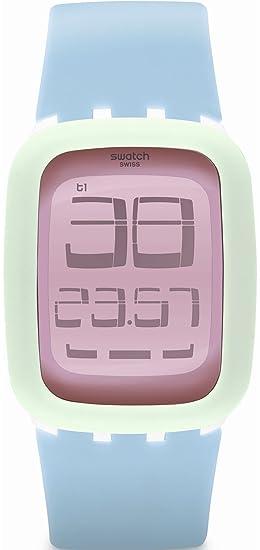 Swatch Unisex Reloj de Pulsera Digital Cuarzo Silicona surw114: Amazon.es: Relojes