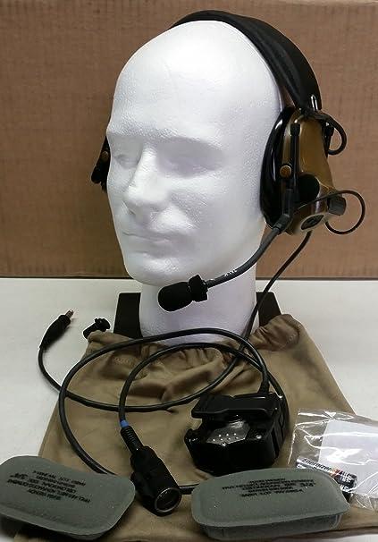 Amazon.com: 3 M Peltor comtac III Ach Kit Único comm CY ...