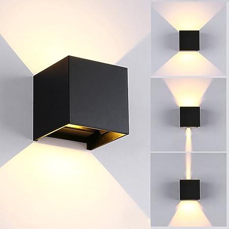 7W LED Apliques De Pared Modernos En Acero Lamparas para