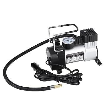 Heavy Duty Compresor Aire 12V Portátil, Bomba de Aire del Neumático de Coche 100PSI, Compresor de Aire: Amazon.es: Coche y moto