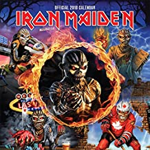 Iron Maiden 2018 12 x 12 Inch Monthly Square Wall Calendar