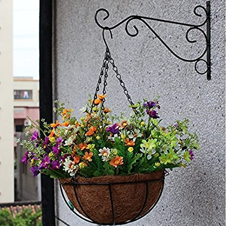 Dproptel 2 Stücken Pflanzen Haken Wandhalter Blume Ständer Haken