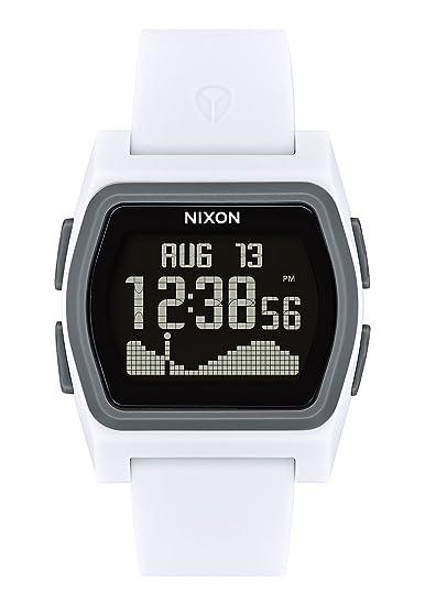Nixon Reloj Hombre de Digital con Correa en Silicona A1236-2015-00: Amazon.es: Relojes
