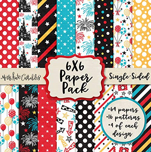 - 6X6 Pattern Paper Pack - Magical Moments - Card Making Scrapbook Specialty Paper Single-Sided 6