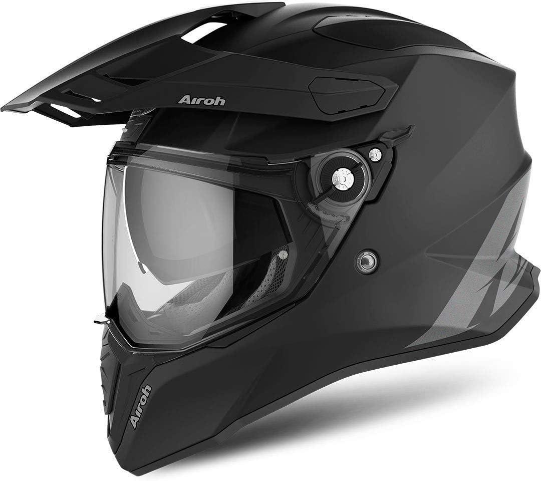 Airoh CMCA32 Commander Carbon Orange Gloss XS