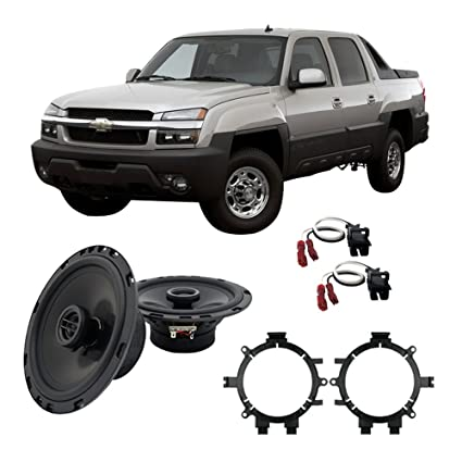 amazon com fits chevy avalanche 2002 2006 front door replacement ha 2002 Chevy Silverado Speaker Replacement image unavailable