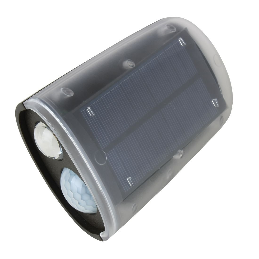 DealMux sensor de movimiento solar Proyector de cubierta impermeable Wireless Solar Powered LED ultra brillante de la antorcha de la lámpara de pared del ...