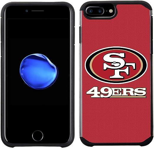 Prime marques Group téléphone portable Coque pour Apple iPhone 8 Plus/iPhone 7 Plus/iPhone 6S Plus/iPhone 6 Plus – Licence NFL San Francisco 49ers ...