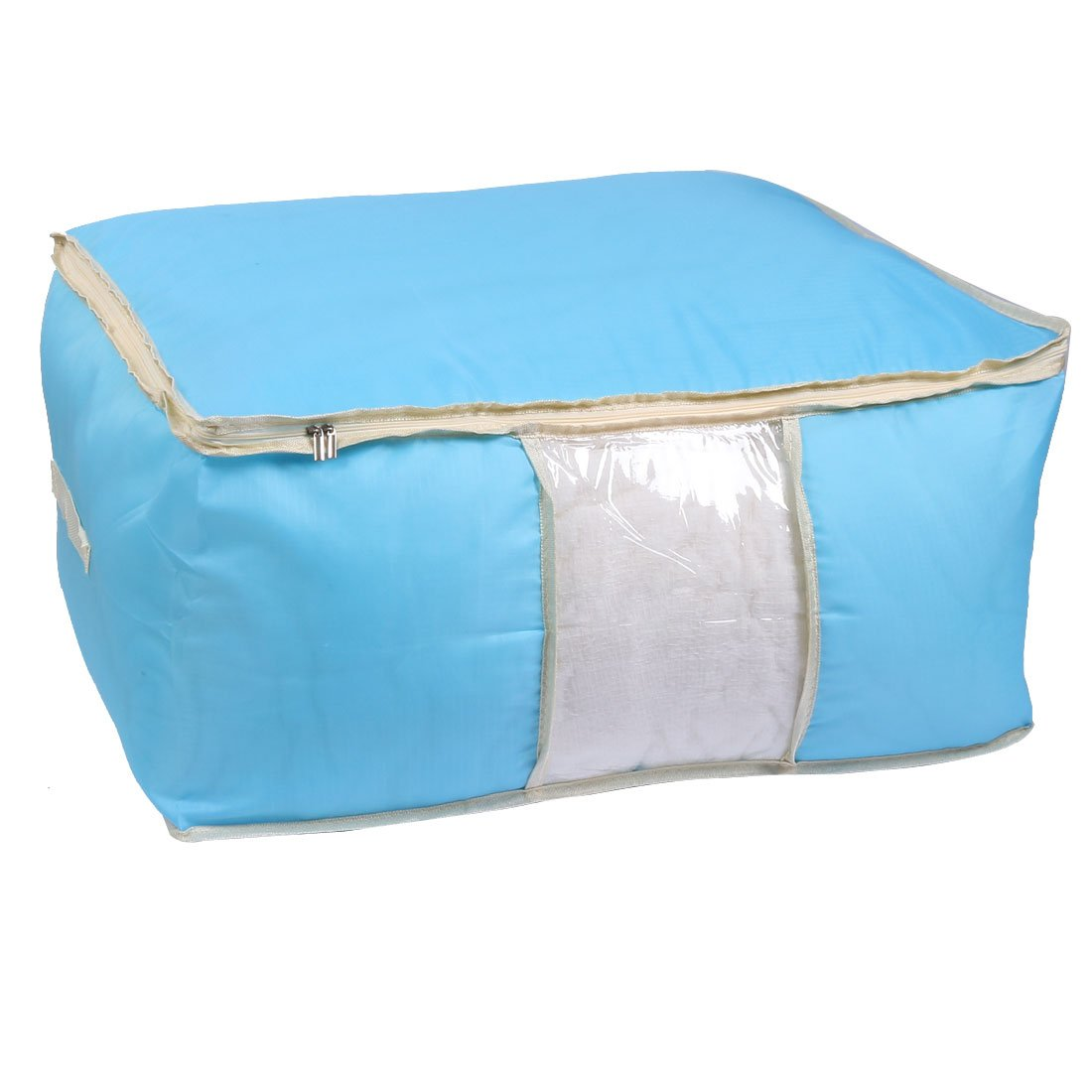 uxcell Clothes Coats Bed Sheets Quilt Duvet Storage Bag Holder Container Blue a16073000ux0318