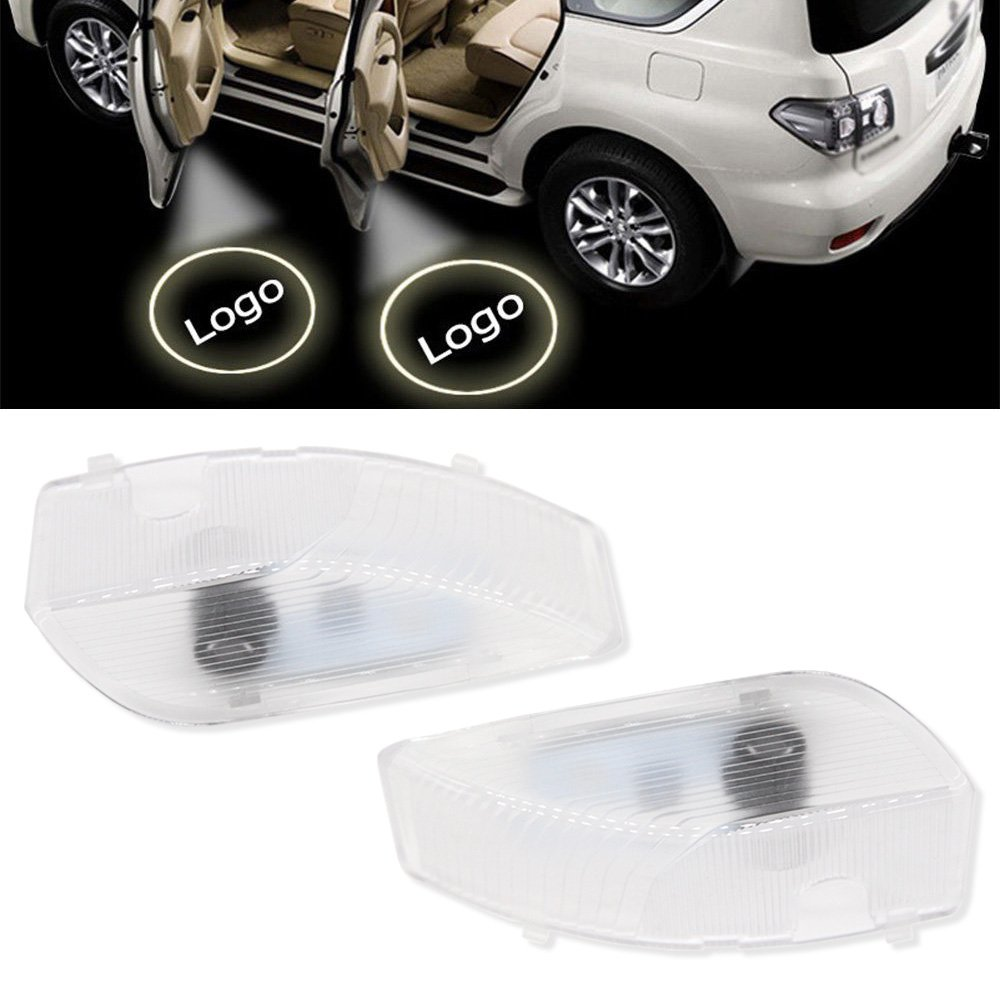 2Pcs OEM Fit Super Bright LED Laser Ghost Shadow Door Step Courtesy Welcome Light Lamps For Mazda 6 2004-2015