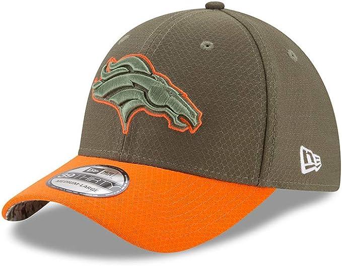 New Era Denver Broncos 39thirty New Era Cap Salute to Service 2020