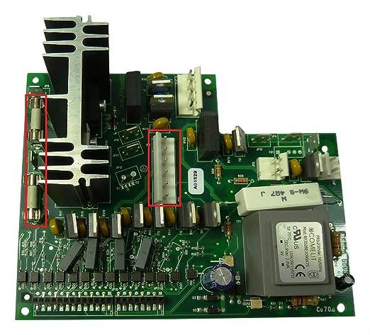 Placa electrónica de potencia SAECO Royal Cappuccino SUP016R con ...