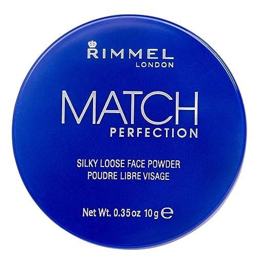 Rimmel London Match Perfection Silky Loose Face Powder, 001 Transparent, 10 g